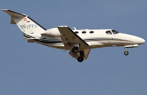 Citation Mustang in volo