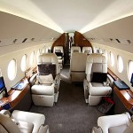 Falcon 2000 LX Easy interno